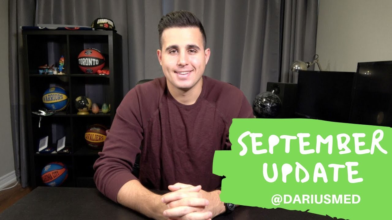 September Update – Orthopedic Surgery & Going Back To Class | Darius Med #Orthopedicsurgery