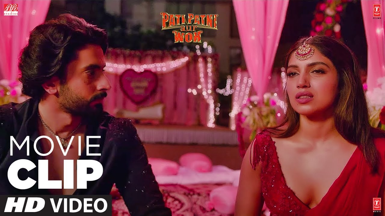 Pati Charitraheen Ho Gya Hai Hamara | Movie Clip | Pati Patni Aur Woh | Kartik A,Bhumi P, Ananya P
