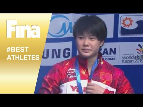 FINA Best Female Diver 2015 - Shi Tingmao