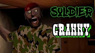 Soldier Granny Full Gameplay