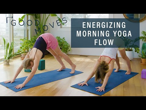 30 Minute Energizing Morning Yoga Flow   Good Moves   Well+Good