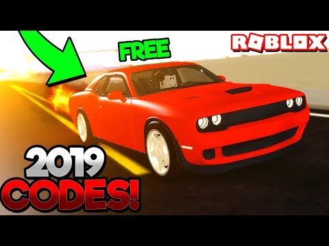 ALL 2019 WORKING CODES in VEHICLE SIMULATOR! (Roblox)