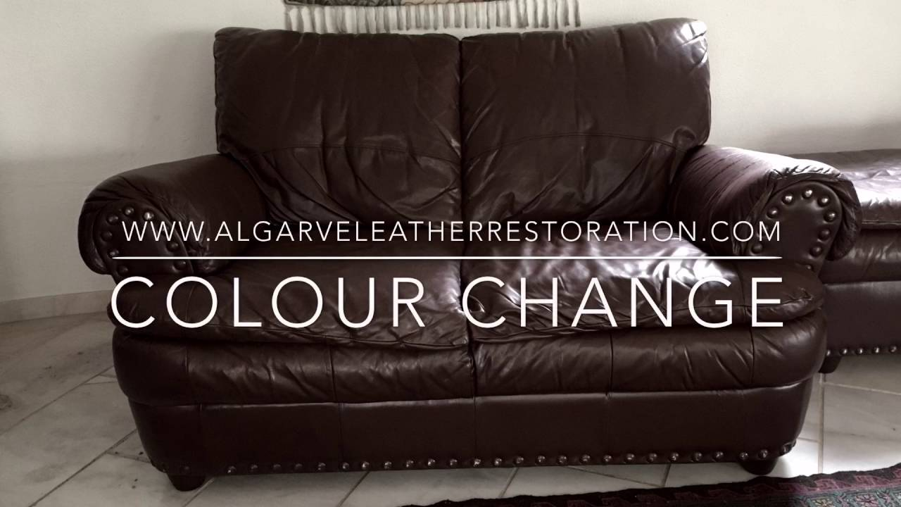 Leather Colour Change You