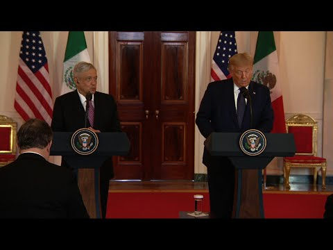 Trump: Lopez Obradoro rapport 'against all odds'