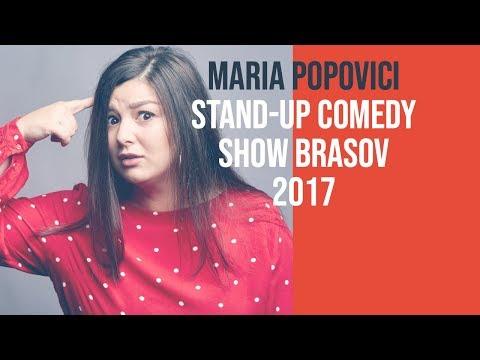 Maria Popovici Cu Un Show Integral De Stand-up Comedy (Brasov 2017)