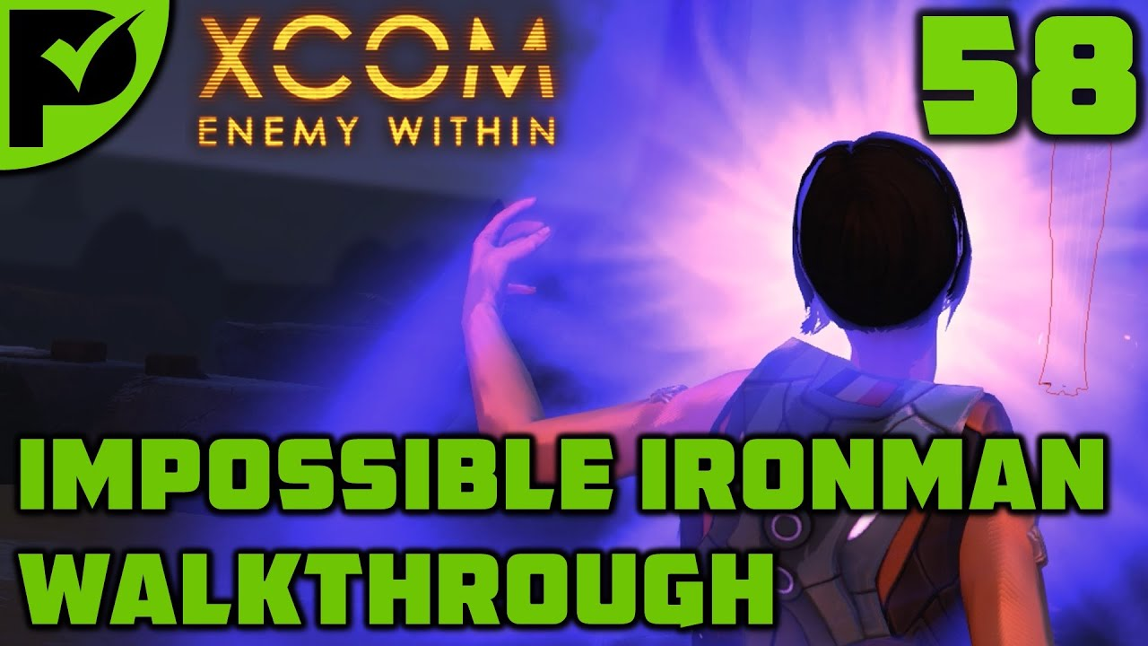 Xavier - XCOM Enemy Within Walkthrough Ep. 58 [XCOM Enemy Within Impossible Ironman]