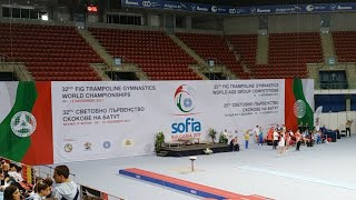Day 3 Part 1 - 2017 FIG Trampoline World Age Group Competitions