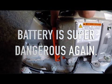 Toyota Prius, Complete Hybrid Battery Rebuild, Replacing 28 Cells
