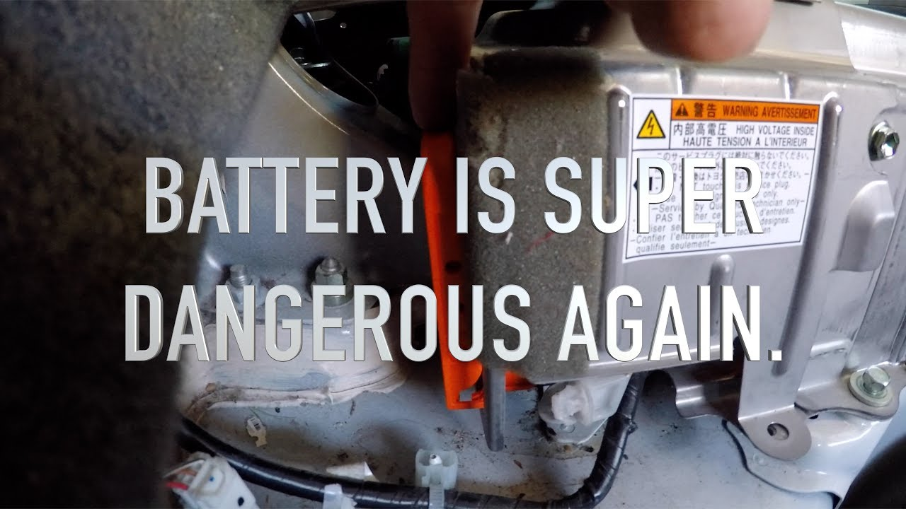 Toyota Prius Complete Hybrid Battery Rebuild Replacing 28 Cells