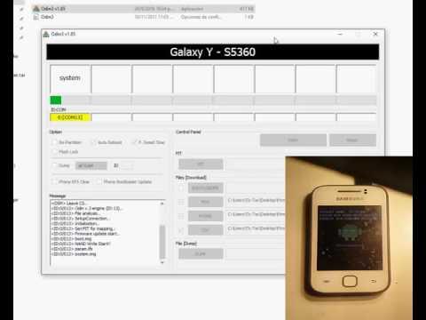 FLASHEAR Samsung Galaxy Y GT-S5360L