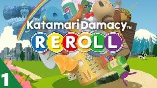 Katamari Damacy Reroll Walkthrough Gameplay Part 1 - No Commentary (PC)