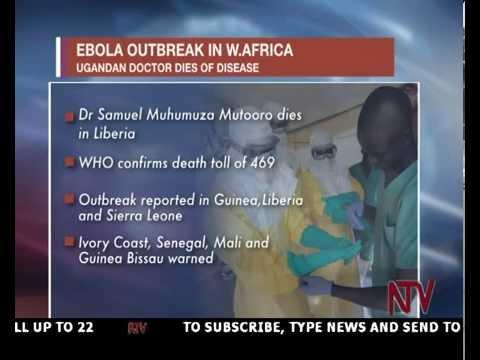 Ugandan medical doctor dies of Ebola in Liberia