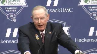 """""""Eli, you're not the reason"""" - Tom Coughlin final message to Eli Manning &25 hf4hs"""