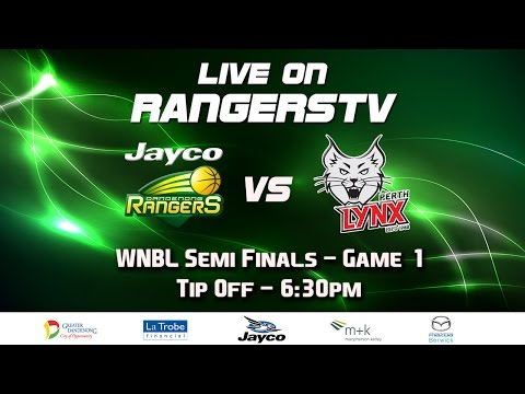 WNBL Semi Finals Game 1: Jayco Rangers vs. Perth Lynx