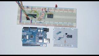 Zeitrelais mit Attiny261, Display, Arduino (C Programm)