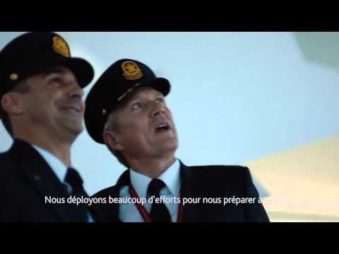 Air Canada: Connecter le monde – Les pilotes