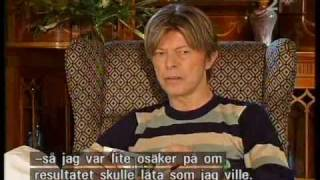 Bowie: interview making life on mars