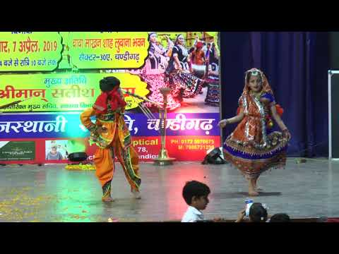 Awesome Rajasthani Duet Dance By Pari & Anant From Star's Academy
