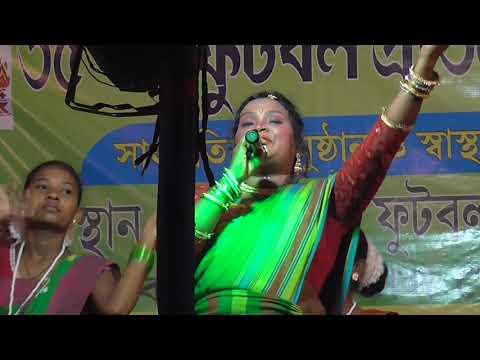 Kalpana Hansda Stage Programme  _ Hor Dhareren Baha Na