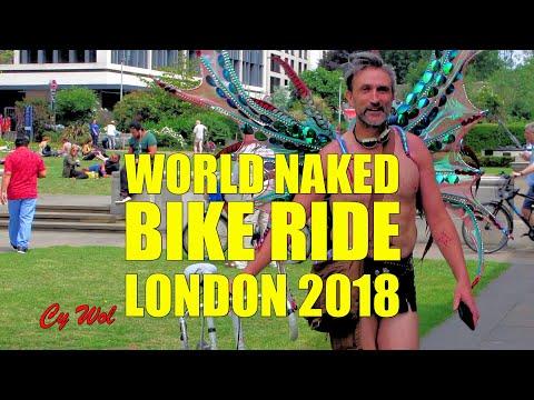 World Naked Bike Ride (WNBR) London 2018