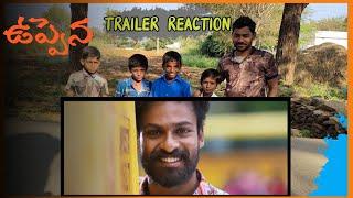 Uppena Trailer  | Uppena Trailer Reaction | Panja Vaisshnav | Krithi Shetty | Vijay Sethupathi