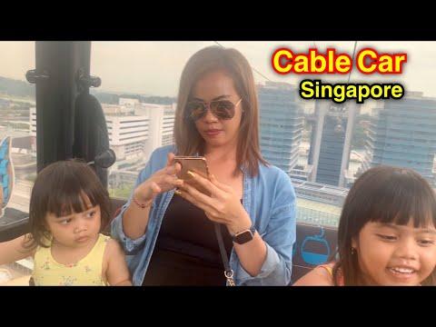 naik-kereta-gantung-||-cable-car-singapore