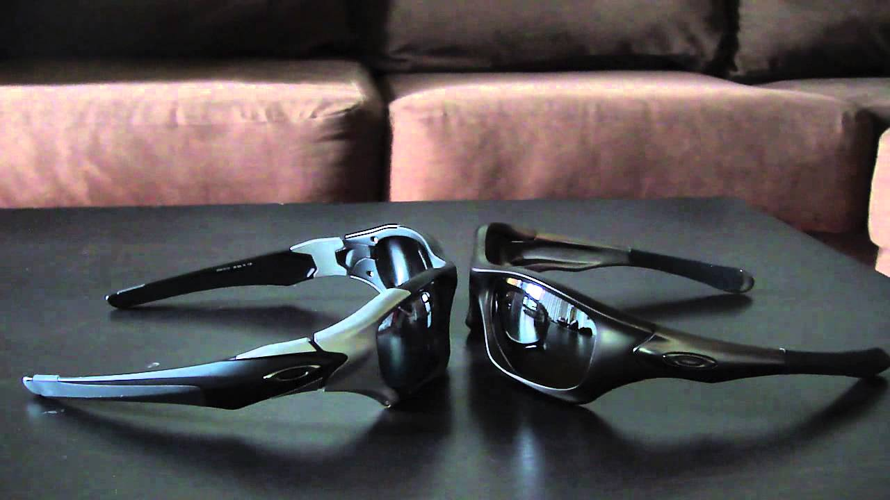 oakley straight jacket vs pitbull