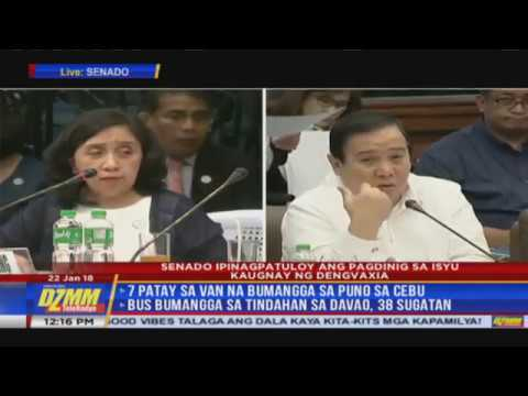 WATCH: Senate investigates Dengvaxia controversy (Part 2)