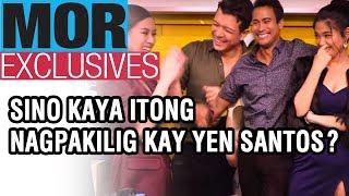 #MORExclusives: Sino kaya itong ang nagpakilig kay Yen Santos?