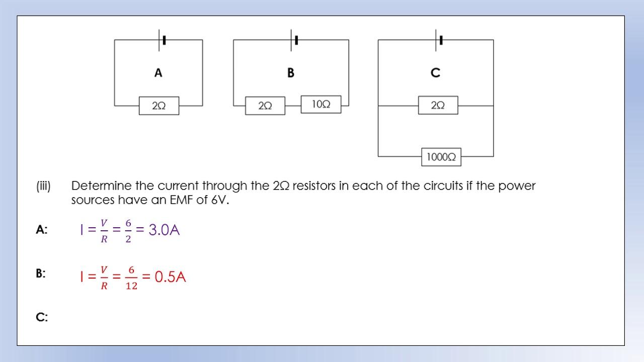 igcse physics electricity revision homework review youtube rh youtube com
