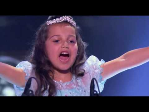 "Eduarda Henklein no programa ""Little Big Shots - NBC"""