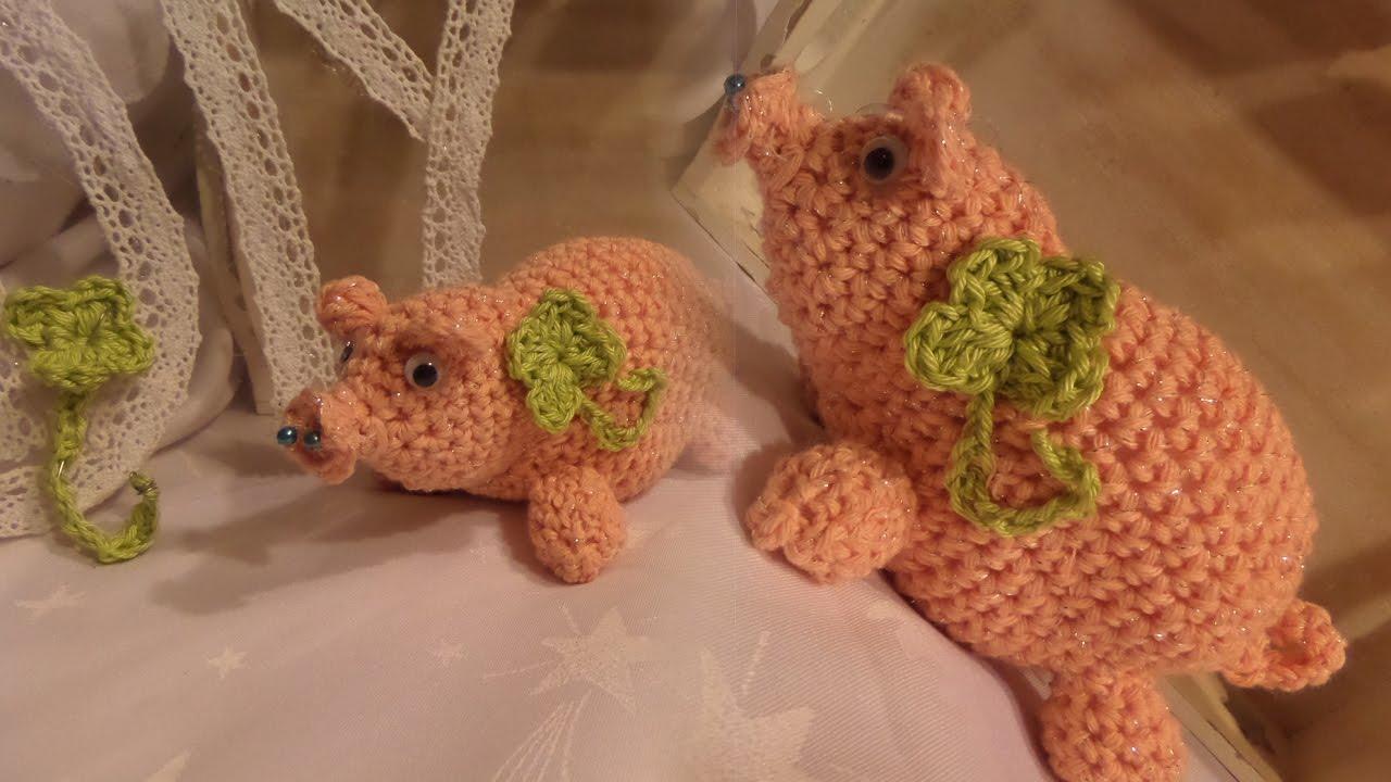 Diy Ein Glücks Schweinchen Glücksbringer Häkeln Selber Machen