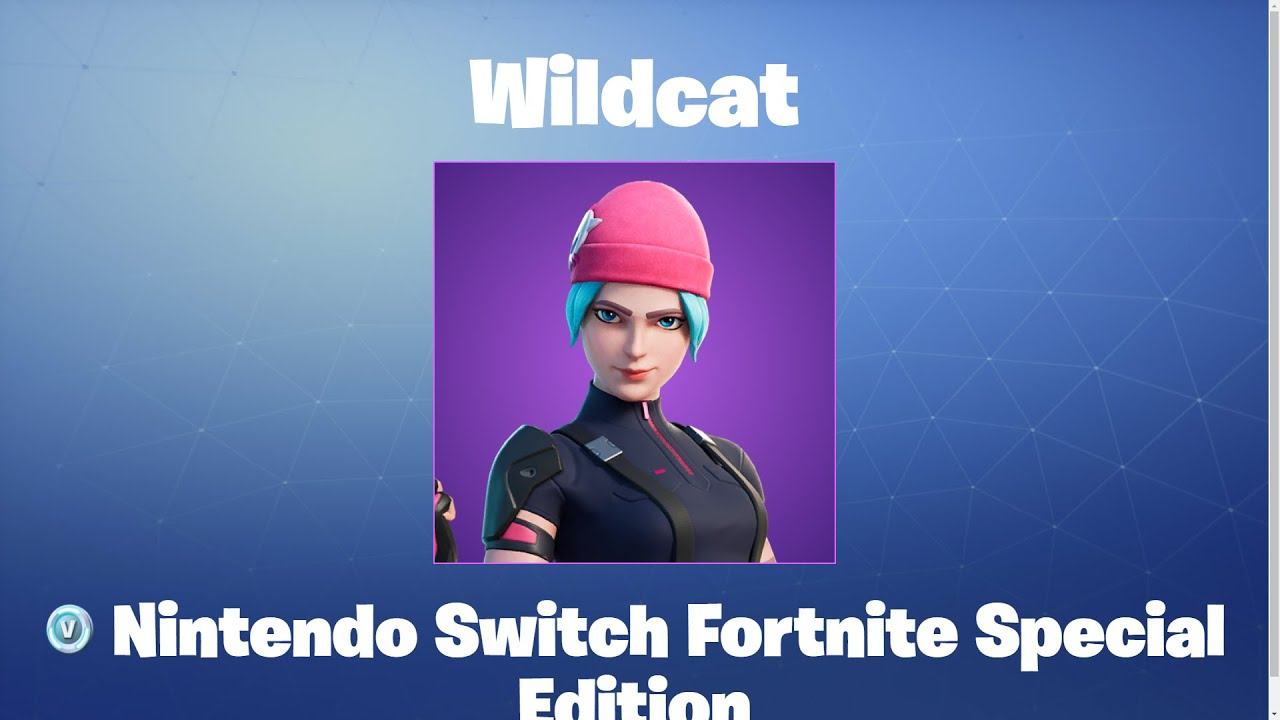 Wildcat   Fortnite Outfit/Skin - YouTube