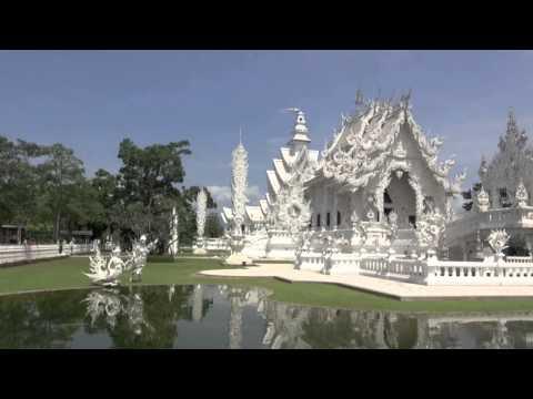 Wat Rong Khun (the 'White Temple,') Chiang Rai, Thailand