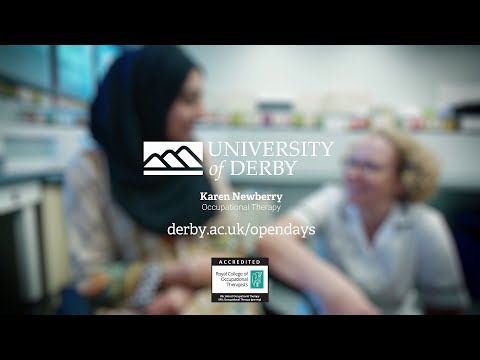 University of Derby -  Occupational Therapy