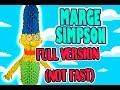 3D MODULAR ORIGAMI #62 MARGE SIMPSON  FULL VERSION
