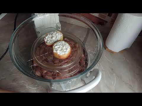 Марафон стройности - продолжаем и готовим индейку и печёные яблоки в аэрогриле