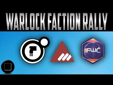 Destiny 2 - Warlock Faction Rally Gear And Shaders
