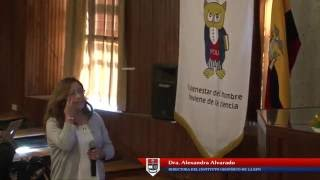 Charla de la Dra. Alexandra Alvarado