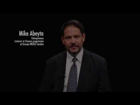Introducing MIKE ABEYTA Finance programme lecturer | INSEEC London