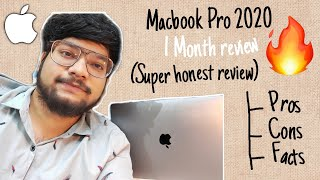 MacBook Pro 2020 Honest 1 Month Review( Upgrade from Air 2017 ) | Hindi | India