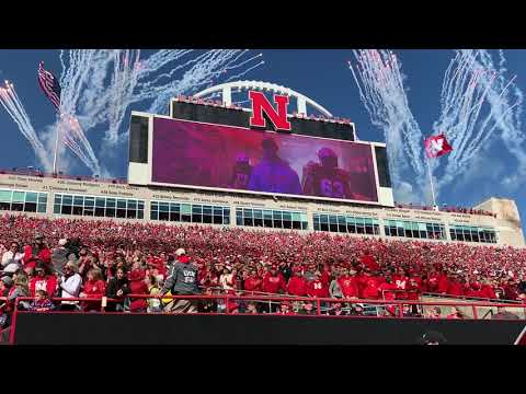 Nebraska Football: Huskers Go Back to Basics With Tradition-Themed Tunnel Walk