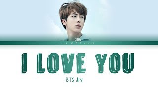 Don't fall in love with JIN