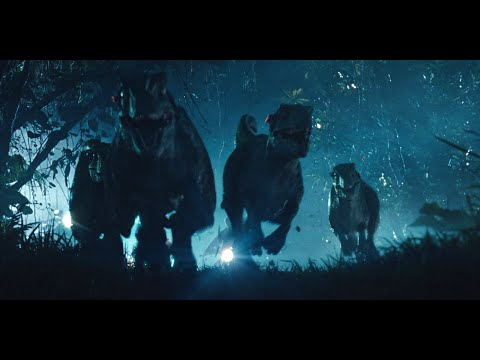 Jurassic World Raptor Scene HD