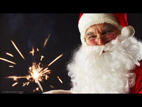 """Новогодняя  переделанная песенка Деда Мороза""""Хорошее настроение""""."""