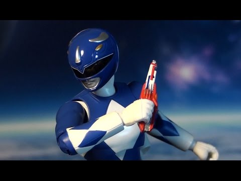 Aniki Mighty Morphin Power Rangers Blue Ranger Review And Unboxing