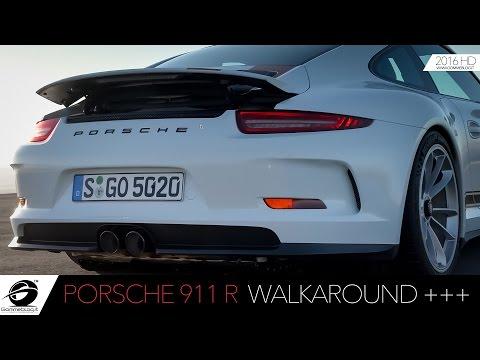 Porsche 911 R | WALKAROUND Exterior Design
