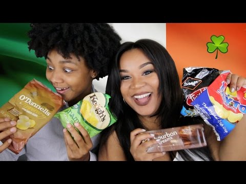 Americans Try Ireland Snacks 🇮🇪 | Irish Taste Testing