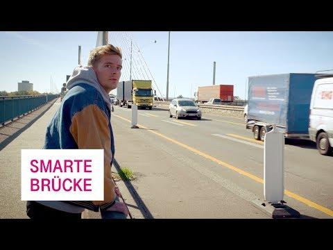Social Media Post: Smarte Brücke - Netzgeschichten