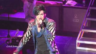 Скачать ADAM LAMBERT Strut Club Nokia Los Angeles 12 16 10